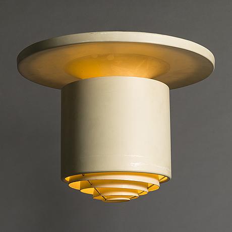 Alvar aalto, a 'a 624' ceiling light for valaistustyö.