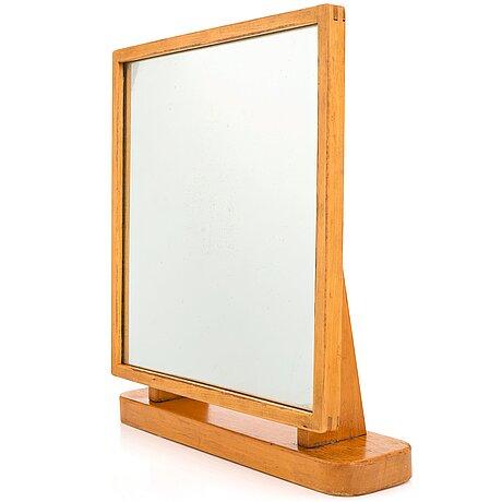 Aino aalto, a 1930's-50's table mirror for  o.y. huonekalu- ja rakennustyötehdas a.b. finland.