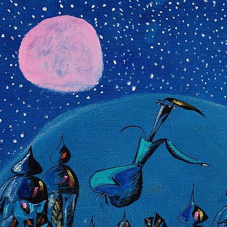Madeleine pyk, månen.