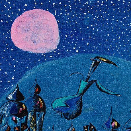 Madeleine pyk, the moon.