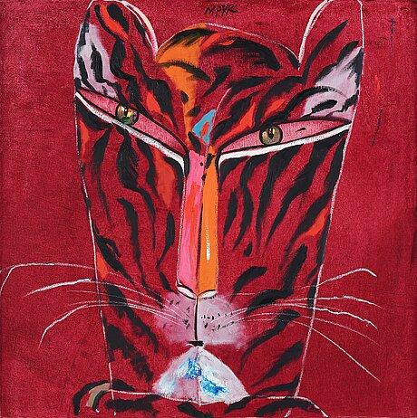 Madeleine pyk, red tiger.