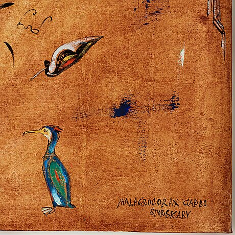 "Madeleine pyk, ""phalacrocorax carbo - storskarv""."