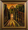 Paavo sarelli, oil on board, signed, a tergo dated -71.