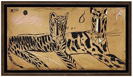 Madeleine pyk, tiger friends.