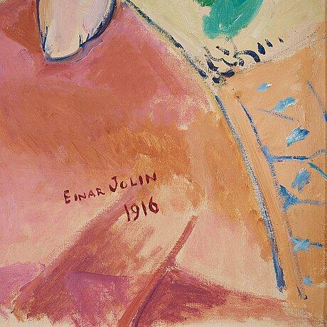 """Einar jolin, """"liggande modell""""."""