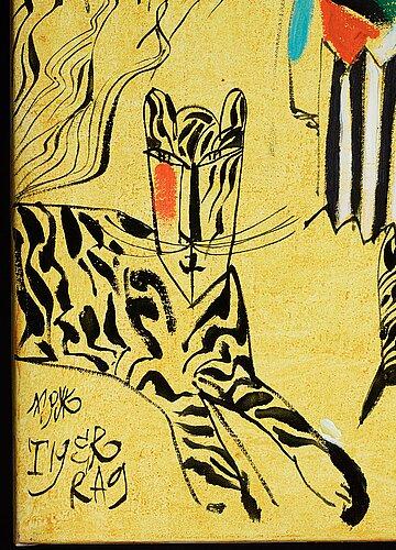 """Madeleine pyk, """"tiger rag""""."""