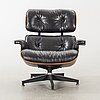 "Charles and ray eames, ""lounge chair"" from herman miller, usa, 1978."