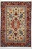 A rug, semi-antique esfahan, ca 217 x 147 cm.