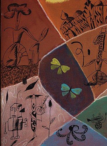 Madeleine pyk, mosaic.