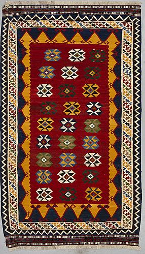 A rug, kashgai kilim, ca 240 x 140 cm.
