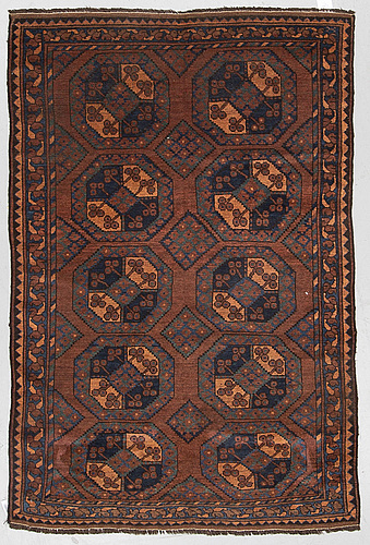A rug, antique ersari, ca 182 x 130 cm.