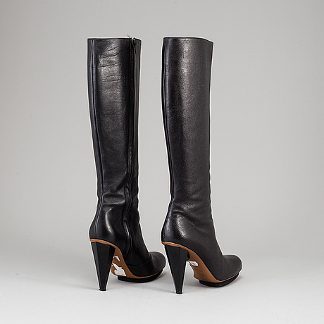 A pair of lanvin boots, size 38.