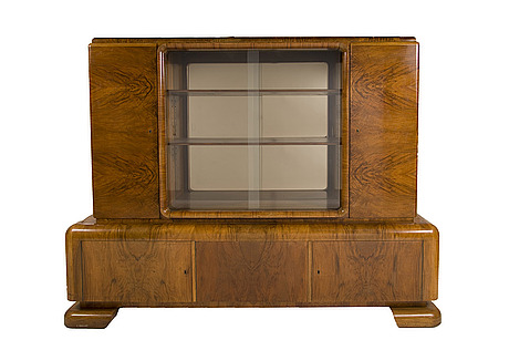 A german art deco cabinet from deutsche wohnkultur.