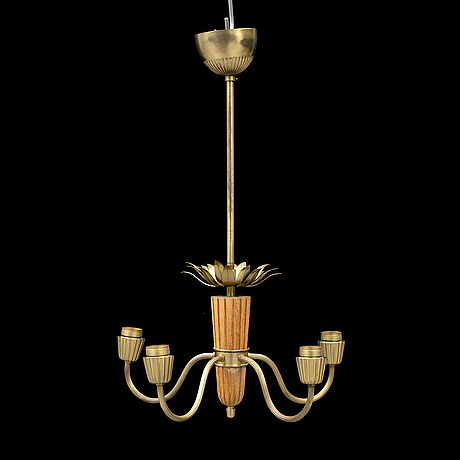 A 1940's ceiling lamp.