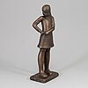 Lisa larson, sculpture, bronze, signed and numbered 474.