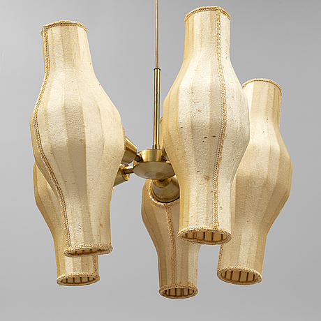 Hans bergstrÖm, attributed to. a 1950's/60's ceiling light.