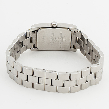 Baume & mercier, wristwatch, 20 x 33 mm.