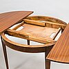 A mid-20th century dining table.