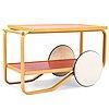Alvar aalto, a mid-20th-century tea trolley, model 98, for artek.