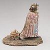 Kaija-riitta iivonen, a set of eleven ceramic sculptures. the end of 20th century.