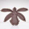 Fujiwo ishimoto, a ceramic relief signed ishimoto -07.