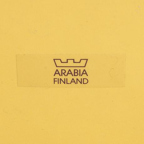 A ceramic dish, arabia finland.