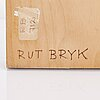 Rut bryk, a relief signed rut bryk.