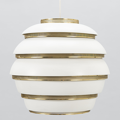 Alvar aalto, a331' pendant light for valaistustyö, finland.