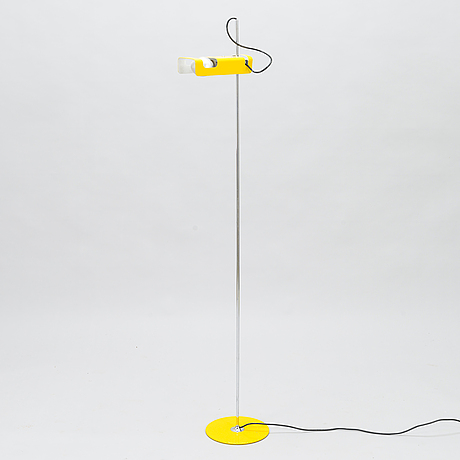Joe colombo, a late 20th century 'spider' floor lamp.