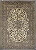 A carpet, kashan 402 x 298 cm.