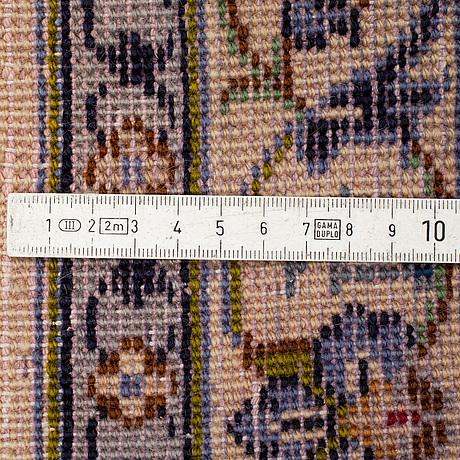 A carpet, kashan, ca 378 x 282 cm.