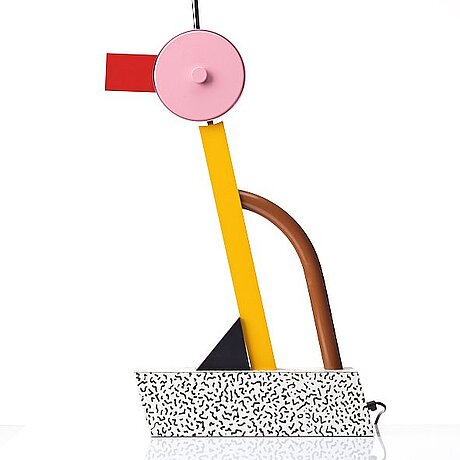 """Ettore sottsass, a """"tahiti"""", table lamp, memphis, milan, post 1981."""