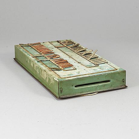 InkÖpstavla, kooperativa förbundet, 1930-/40-tal.