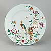 A chinese famille rose export porcelain serving dish, qing dynasty, qianlong (1736-95).