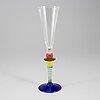 Berit johansson, champagneglasses, 11, 'harlequin', gense.