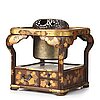 A japanese heater/teaburi, meiji period (1868-1912).