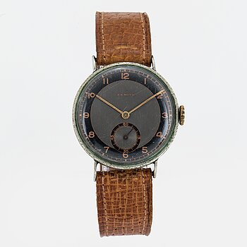 ZENITH, wristwatch, 31 mm.