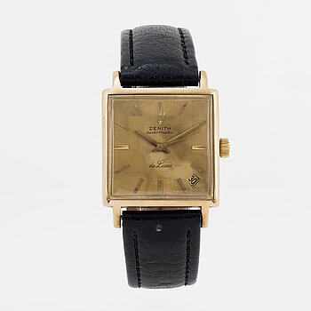 ZENITH, De Luxe, wristwatch, 30 (40) mm.