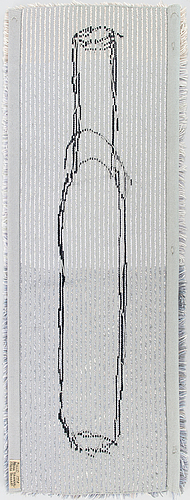 Pekka paikkari, ryijy rug, made by sirkka paikkari loomsterstudio, finland 1998.