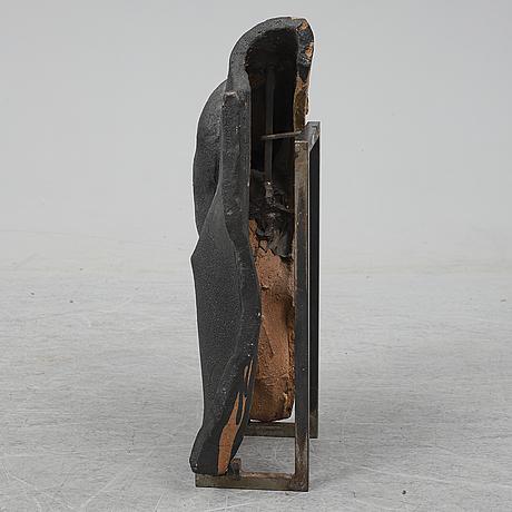 Hertha hillfon, sculpture, stockholm, sweden.