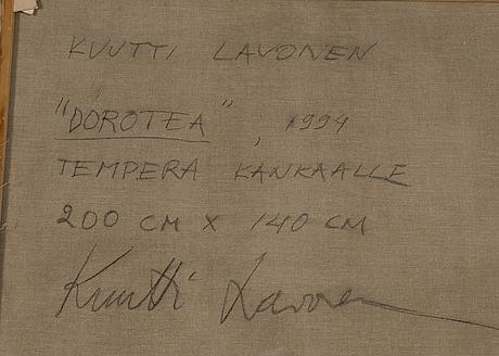 """Kuutti lavonen,""""dorothea""""."""