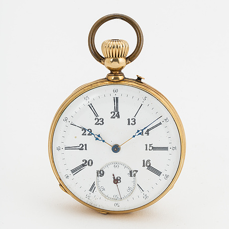 Pocket watch, 48 mm.