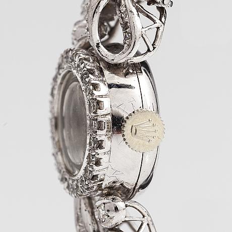 Rolex, precision, rannekello, 14,3 mm.