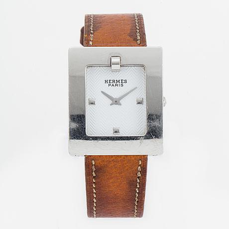 HermÈs, belt, wristwatch, 26 x 29 mm.