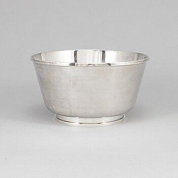 Håbes Atelje Ab, a sterling silver bowl, Göteborg 1961.
