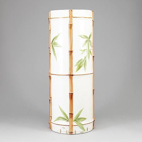 A swedish porcelain vase from gustafsberg, ca 1900.
