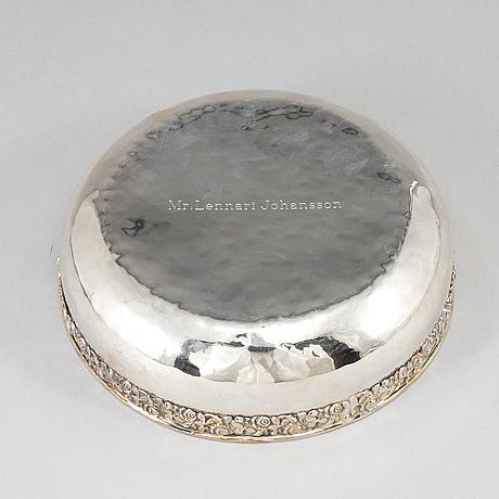 SkÅl, silver 800. 1900-talets andra hälft.