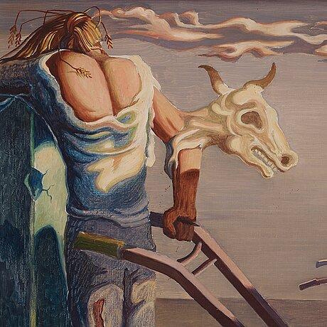 Axel olson, surrealistic landscape.