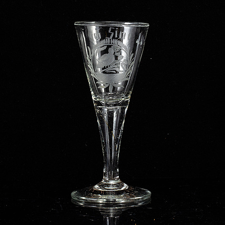 A late 18th/early 19th century glass.