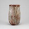Wakao toshisada, possibly, a ceramic vase, japan.